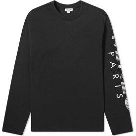 ケンゾー Kenzo メンズ 長袖Tシャツ トップス【long sleeve sport tee】Black