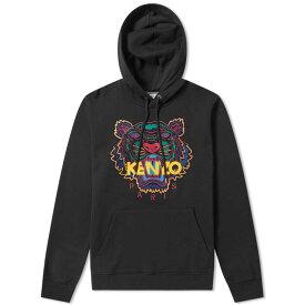 ケンゾー Kenzo メンズ パーカー トップス【embroidered tiger hoody】Black