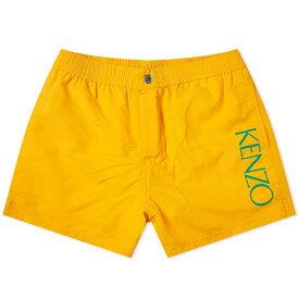 ケンゾー Kenzo メンズ 海パン 水着・ビーチウェア【logo swim short】Medium Orange