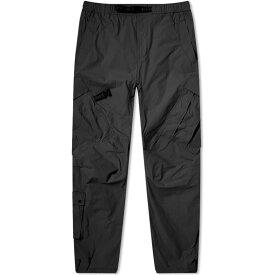 マハリシ Maharishi メンズ カーゴパンツ ボトムス・パンツ【Veg Dyed Cargo Track Pant】Black