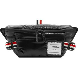トム ブラウン Thom Browne メンズ ボディバッグ・ウエストポーチ バッグ【Ripstop Waist Bag】Black