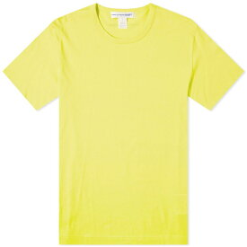 コム デ ギャルソン Comme des Garcons SHIRT メンズ Tシャツ ロゴTシャツ トップス【back logo tee】Yellow