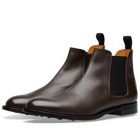 コム デ ギャルソン Comme des Garcons Homme Plus メンズ シューズ・靴 ブーツ【Cow Hide Chelsea Boot】Brown