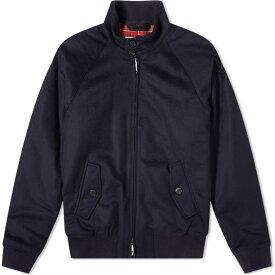 バラクータ Baracuta メンズ ジャケット スイングトップ アウター【G9 Melton Wool Harrington Jacket】Deep Blue