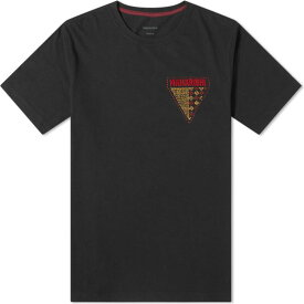 マハリシ Maharishi メンズ Tシャツ トップス【World Tribe Embroidered Tee】Black