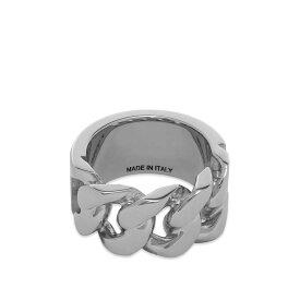 アレキサンダー マックイーン Alexander McQueen メンズ 指輪・リング ジュエリー・アクセサリー【chain detail ring】Silver