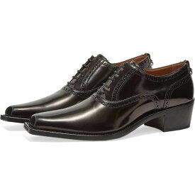 バーバリー Burberry メンズ 革靴・ビジネスシューズ シューズ・靴【buchanan oxford shoe】Black