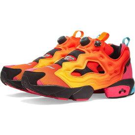 リーボック Reebok メンズ スニーカー シューズ・靴【x chromat instapump fury】Solar Orange/Yellow/Black