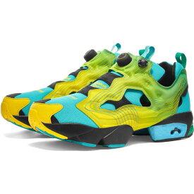 リーボック Reebok メンズ スニーカー シューズ・靴【x chromat instapump fury】Emerald/Yellow/Glacier Blue