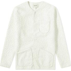 Kestin メンズ フリース トップス【neist fleece】Winter White