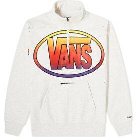 バンズ ボルト Vans Vault メンズ トップス ハーフジップ【x LQQK Studio Quarter-Zip Top】Ash Heather
