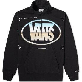 バンズ ボルト Vans Vault メンズ トップス ハーフジップ【x LQQK Studio Quarter-Zip Top】Black