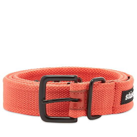 ステューシー Stussy メンズ ベルト 【woven army belt】Red