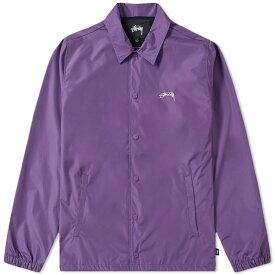 ステューシー Stussy メンズ ジャケット コーチジャケット アウター【cruize coach jacket】Purple