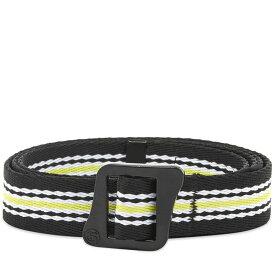 ステューシー Stussy メンズ ベルト 【striped climbing web belt】Black