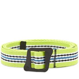 ステューシー Stussy メンズ ベルト 【striped climbing web belt】Green