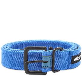 ステューシー Stussy メンズ ベルト 【woven army belt】Blue