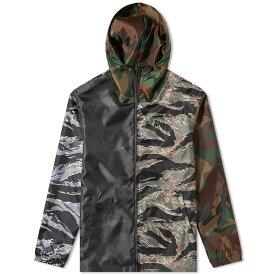ソフネット SOPHNET. メンズ ジャケット アウター【light weight zip-up jacket】Camouflage
