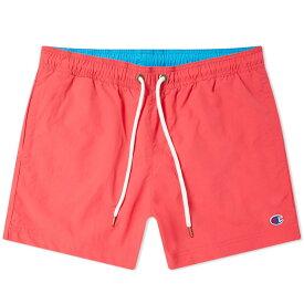 チャンピオン Champion Reverse Weave メンズ 海パン 水着・ビーチウェア【classic swim short】Fluro Pink/Ocean Blue