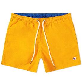 チャンピオン Champion Reverse Weave メンズ 海パン 水着・ビーチウェア【classic swim short】Fluro Orange/Royal Blue