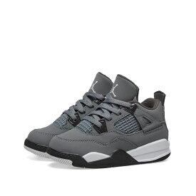 ナイキ ジョーダン Nike Jordan メンズ スニーカー シューズ・靴【air jordan 4 retro td】Cool Grey/Chrome/Charcoal