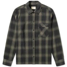 ヌーディージーンズ Nudie Jeans Co メンズ シャツ トップス【nudie sten check shirt】Black