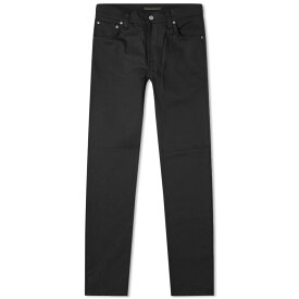 ヌーディージーンズ Nudie Jeans Co メンズ ジーンズ・デニム ボトムス・パンツ【nudie thin finn jean】Dry Cold Black