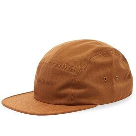 ノースプロジェクト Norse Projects メンズ キャップ 帽子【herringbone 5 panel logo cap】Russet