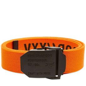 ネイバーフッド Neighborhood メンズ ベルト 【xxv belt】Orange