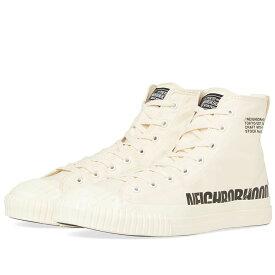 ネイバーフッド Neighborhood メンズ シューズ・靴 スニーカー【G.R Hi Sneaker】Natural