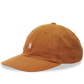 ノースプロジェクト Norse Projects メンズ キャップ 帽子【light twill sports cap】Russet