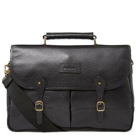 バーブァー Barbour メンズ ビジネスバッグ・ブリーフケース バッグ【leather briefcase】Black