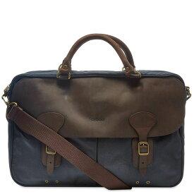 バーブァー Barbour メンズ ビジネスバッグ・ブリーフケース バッグ【wax leather briefcase】Navy