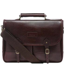 バーブァー Barbour メンズ ビジネスバッグ・ブリーフケース バッグ【leather briefcase】Dark Brown