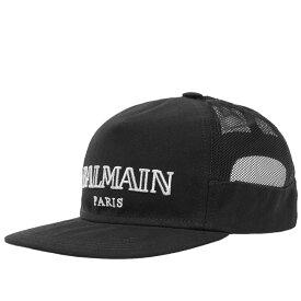 バルマン Balmain メンズ キャップ 帽子【logo cap】Black