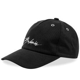バルマン Balmain メンズ キャップ 帽子【script logo cap】Black