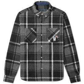 ビリオネアボーイズクラブ Billionaire Boys Club メンズ シャツ トップス【heavy check shirt】Black