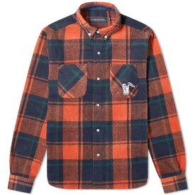 ビリオネアボーイズクラブ Billionaire Boys Club メンズ シャツ トップス【heavy check shirt】Orange