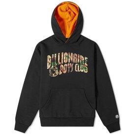 ビリオネアボーイズクラブ Billionaire Boys Club メンズ パーカー トップス【tree camo arch logo hoody】Black