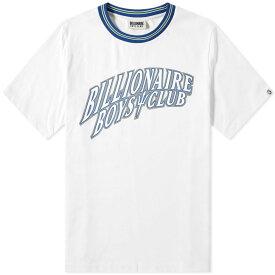 ビリオネアボーイズクラブ Billionaire Boys Club メンズ Tシャツ トップス【heavy cotton gamer tee】White
