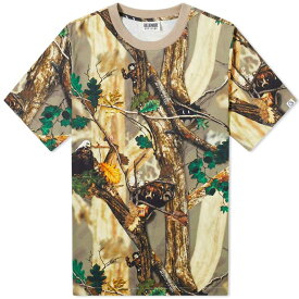 ビリオネアボーイズクラブ Billionaire Boys Club メンズ Tシャツ トップス【tree camo all over print tee】Beige