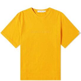 ビリオネアボーイズクラブ Billionaire Boys Club メンズ Tシャツ ロゴTシャツ トップス【tonal logo heavy tee】Orange