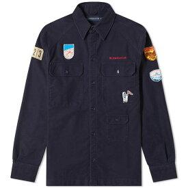 ビリオネアボーイズクラブ Billionaire Boys Club メンズ シャツ トップス【field trip scout shirt】Navy