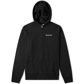 ビリオネアボーイズクラブ Billionaire Boys Club メンズ パーカー トップス【rubber logo zip hoody】Black