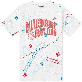 ビリオネアボーイズクラブ Billionaire Boys Club メンズ Tシャツ ロゴTシャツ トップス【nautical arch logo tee】White