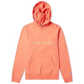 ビリオネアボーイズクラブ Billionaire Boys Club メンズ パーカー トップス【embroidered popover hoody】Coral