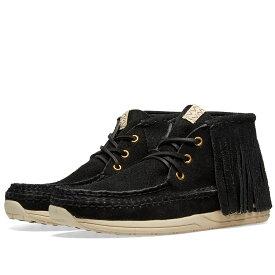 ビズビム Visvim メンズ シューズ・靴 スニーカー【Voyageur Moc Shaman Folk】Black