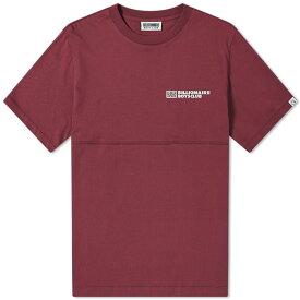ビリオネアボーイズクラブ Billionaire Boys Club メンズ Tシャツ ロゴTシャツ トップス【robotic logo tee】Burgundy