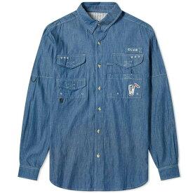 ビリオネアボーイズクラブ Billionaire Boys Club メンズ シャツ トップス【fishing shirt】Chambray