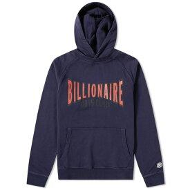 ビリオネアボーイズクラブ Billionaire Boys Club メンズ パーカー トップス【racing logo popover hoody】Blue